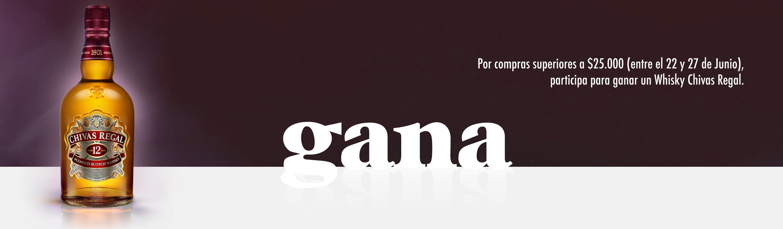 GANA CHIVAS REGAL